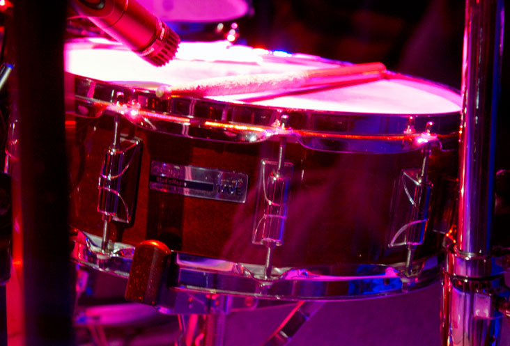 snare on Meeting House Oakville stage