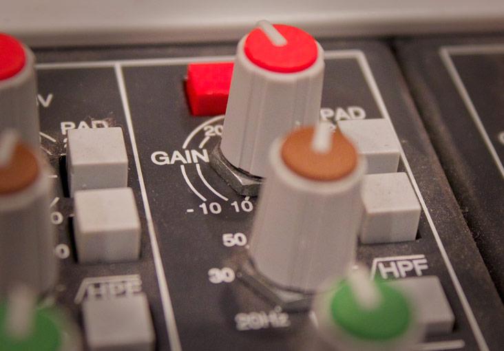 Gain-knob